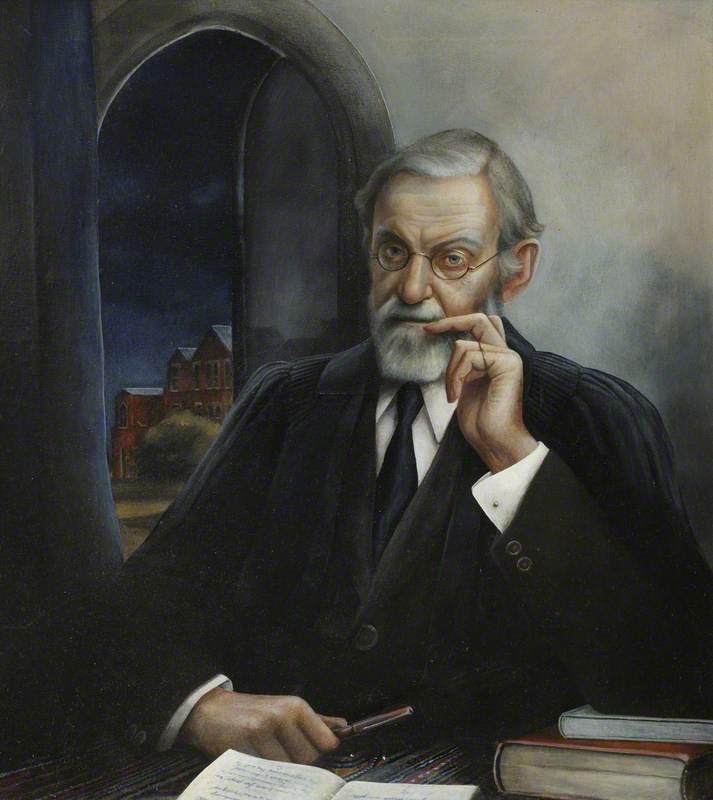 Baron Anatole von Hügel, President of St Edmund's College (1917–1921)
