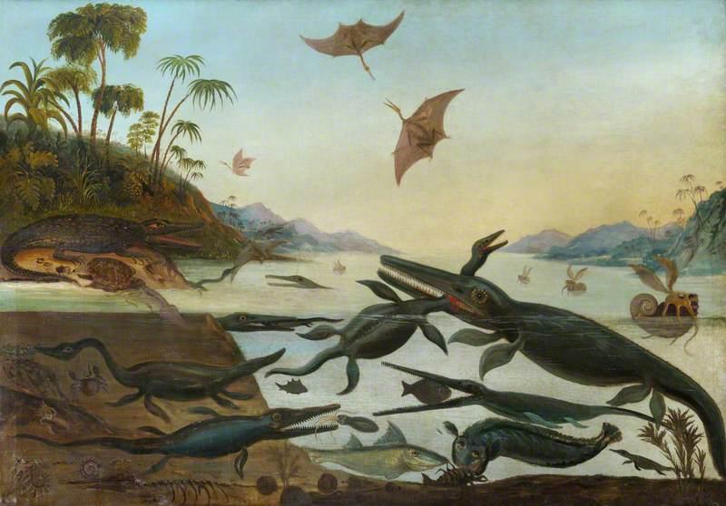 Life in the Jurassic Sea 'Duria Antiquior' (An Earlier Dorset)