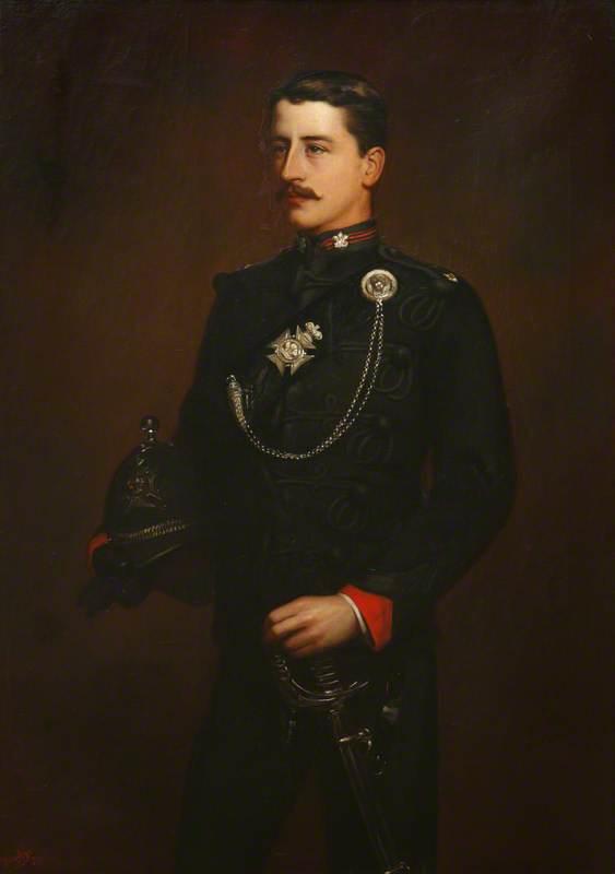 Piers Alexander, Viscount Valletort (1865–1944), Aged 21