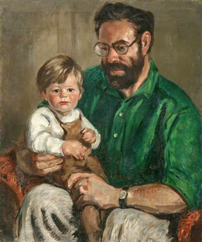 Terry Frost and Son