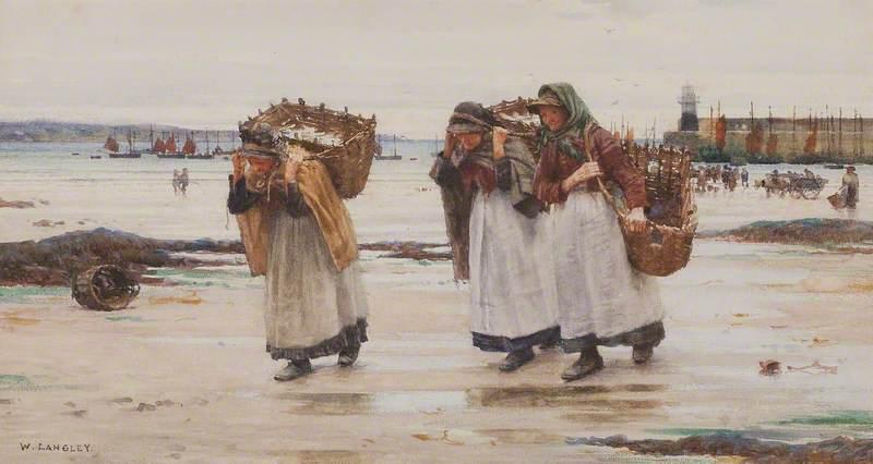 The Breadwinners (Newlyn Fishwives)