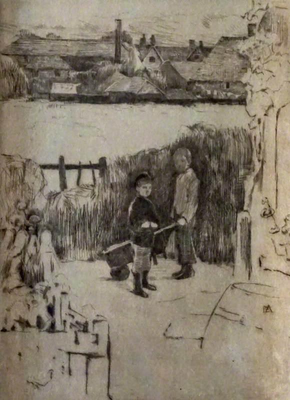Boys with a Barrow
