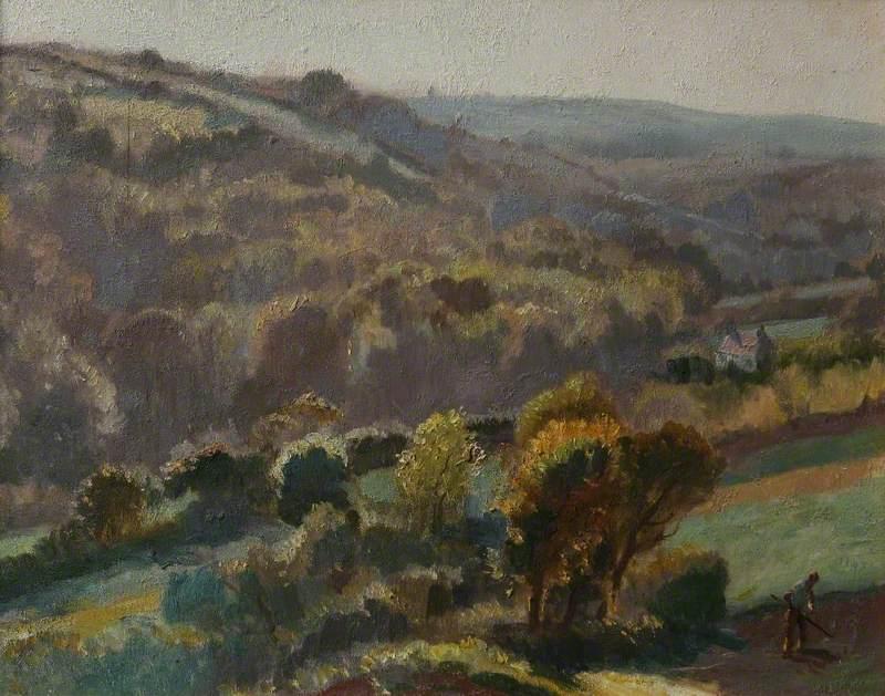 Lamorna Valley, Evening