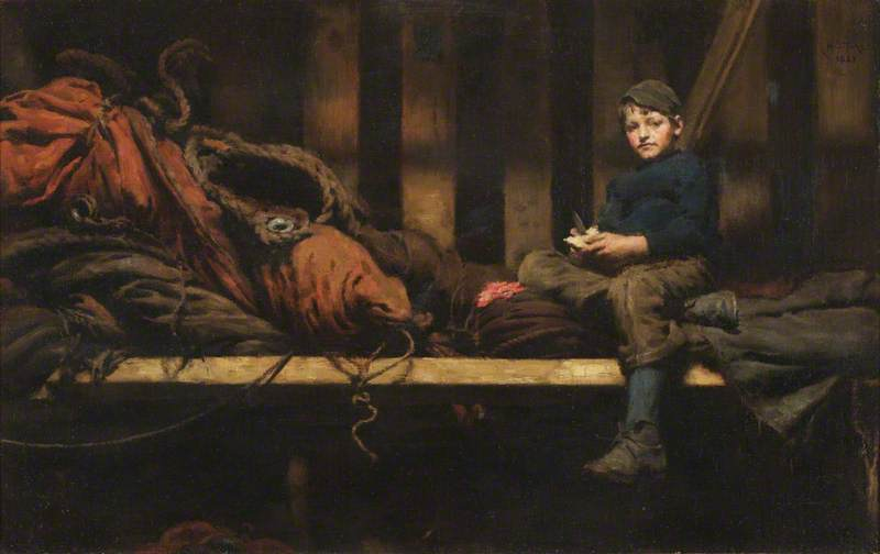Dinner Time – Ambrose Rouffignac in the Sail Loft