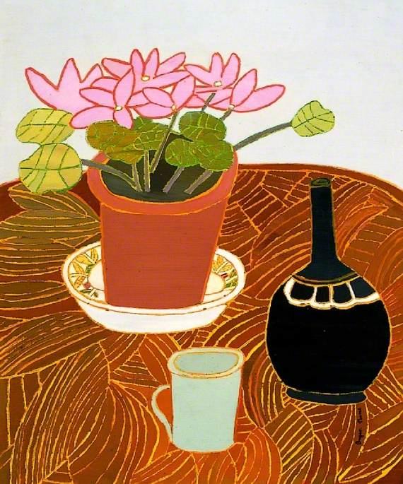 Pink Cyclamen, No. 1