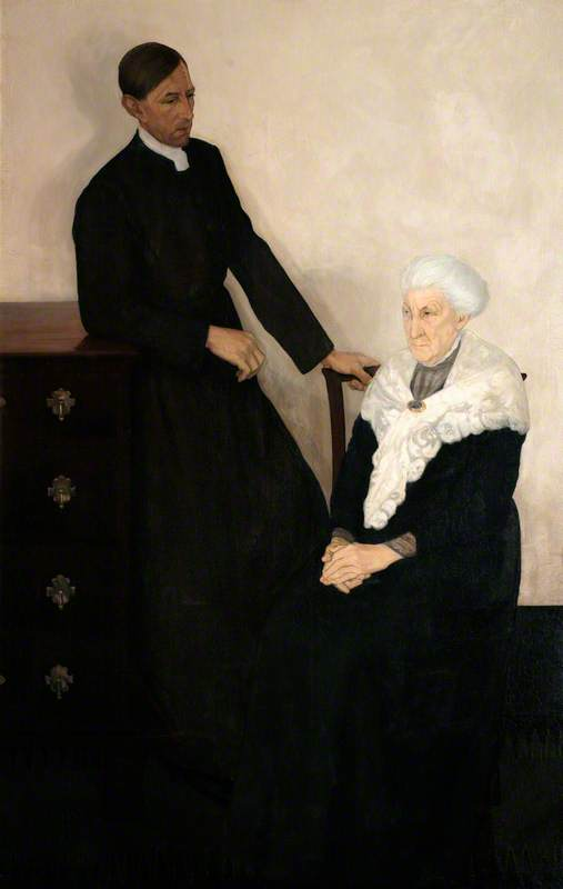 Reverend Bernard Walke and His Mother
