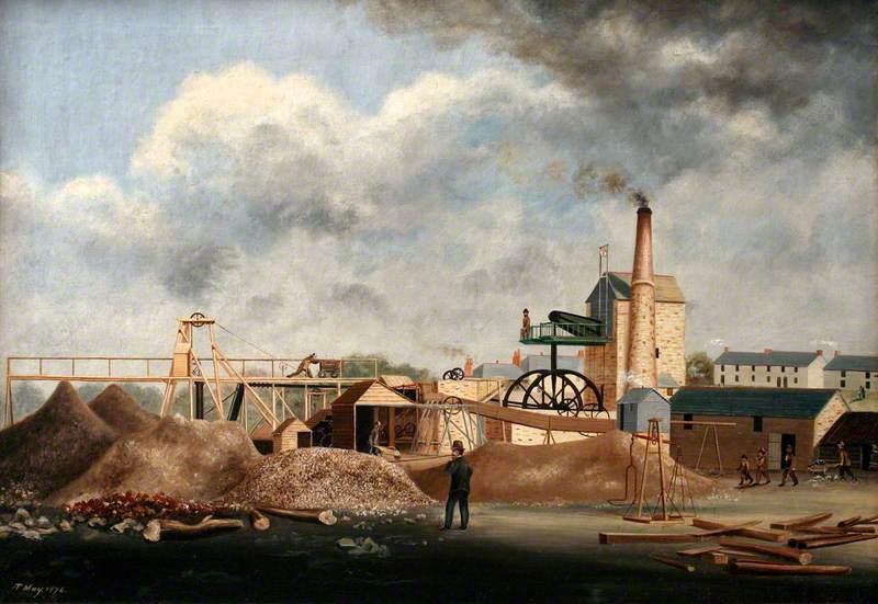 Restronguet Creek Tin Works