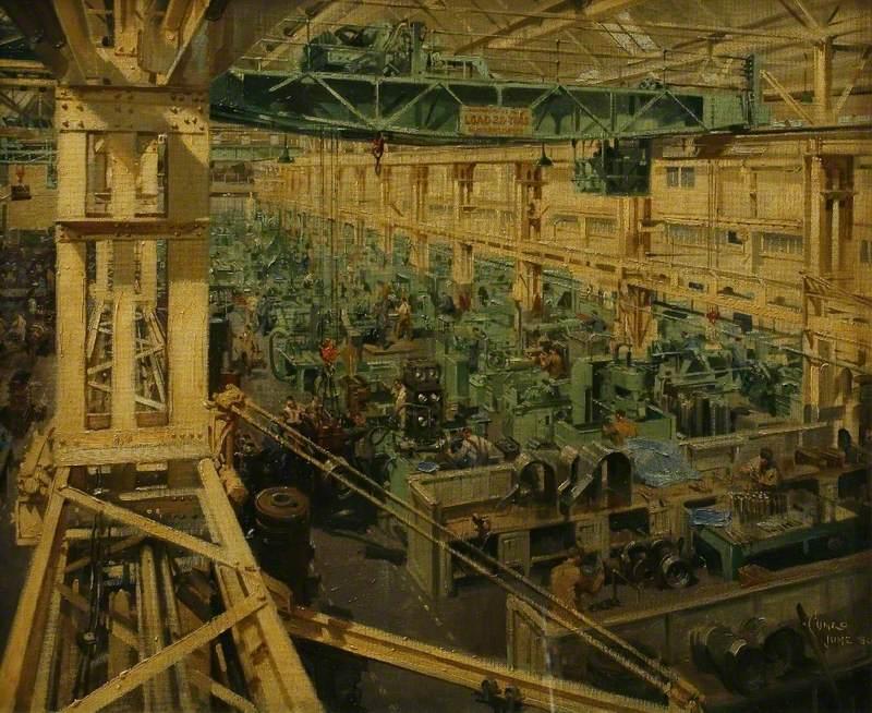 A Machine Shop, Camborne Works