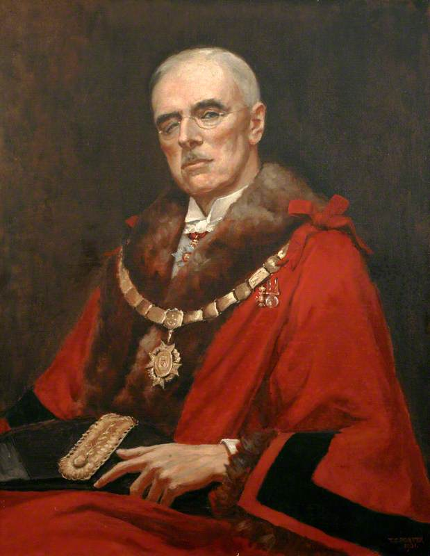 Lieutenant Colonel William Price Drury, CBE, RM, Mayor of Saltash