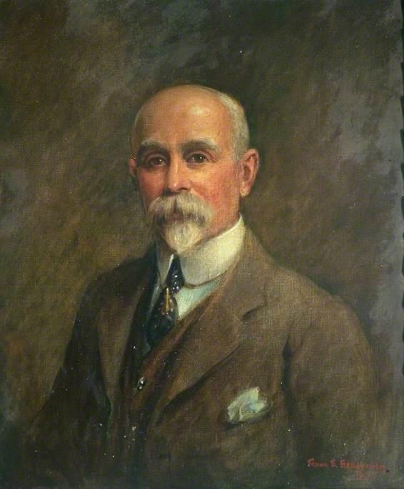 George Herbert Strutt (1854–1928), First Chairman of Belper Urban District Council