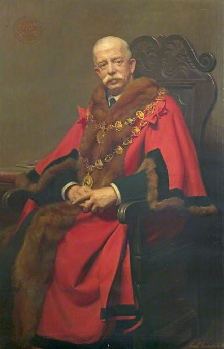 Sir Ernest Shentall, JP, Mayor of Chesterfield (1913–1919)