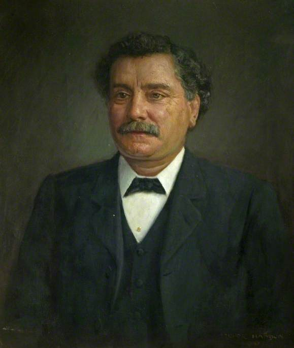 James Haslam (1842–1913), MP for Chesterfield (1906–1913), Founder Member and Secretary of the Derbyshire Miners' Association, 1880