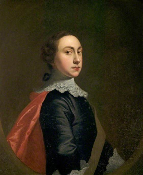 Self Portrait in Van Dyck Costume