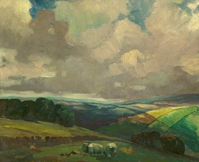 View of Belper, Derbyshire
