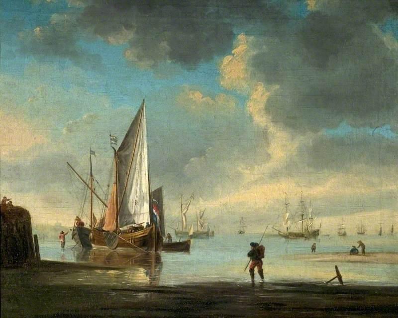 Calm Coastal Scene