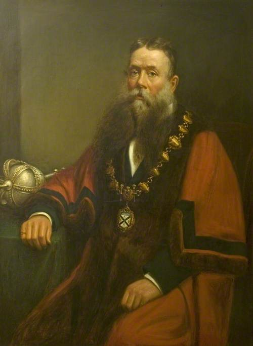 Alderman William Wade (b.1830), Mayor of the Borough of Ilkeston (1888–1889)