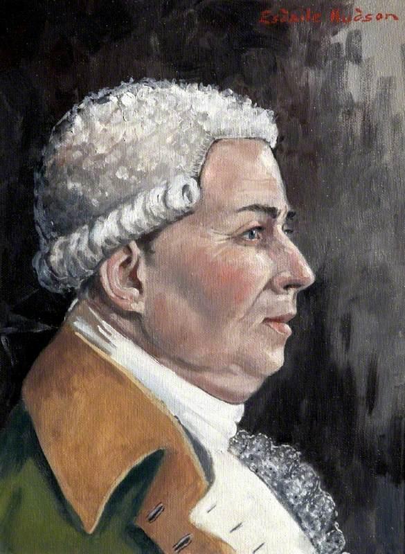 An Artist's Impression of Thomas Whitty (1716–1792)
