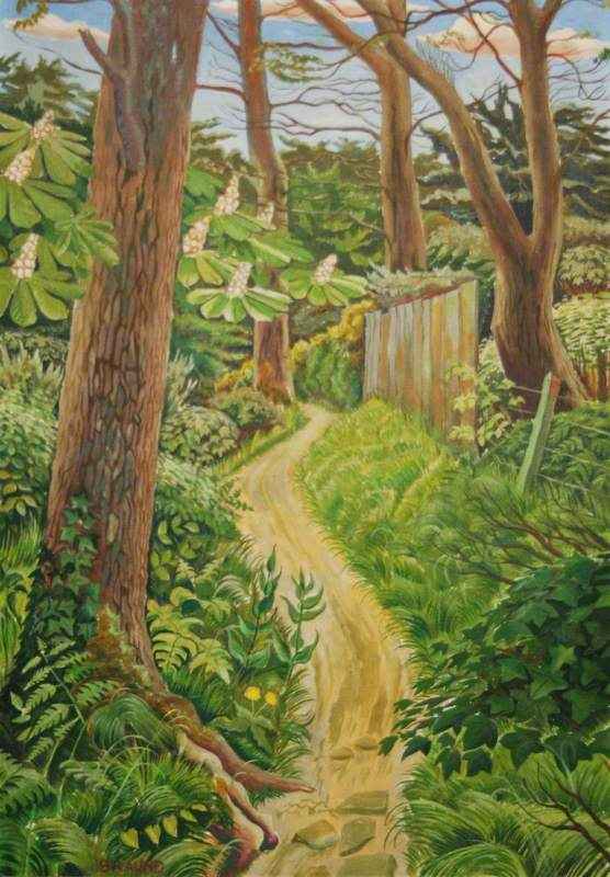 Copse Path, April 1940