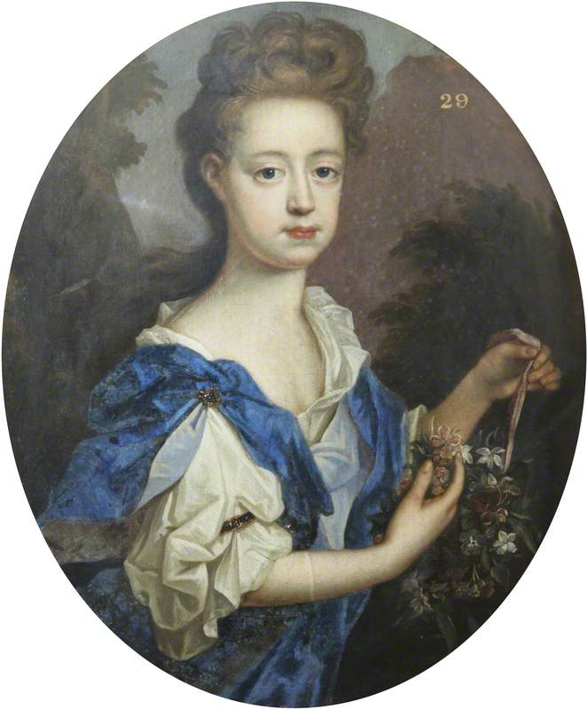 Portrait of a Lady with a Bouquet