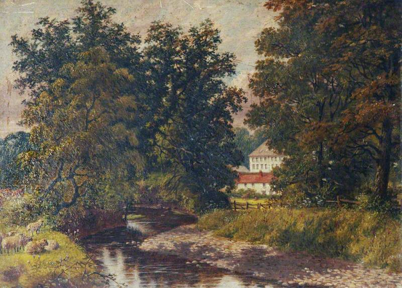 Raleigh Mill from the River Yeo