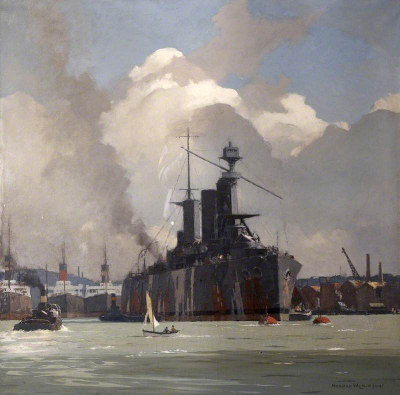 HMS 'Lion', Battlecruiser