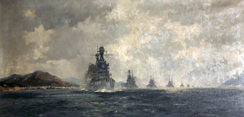 HMS 'Superb'