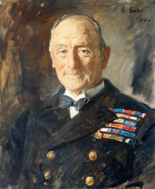 The Admiral of the Fleet John Rushworth Jellicoe (1859–1935), OM, 1st Earl Jellicoe