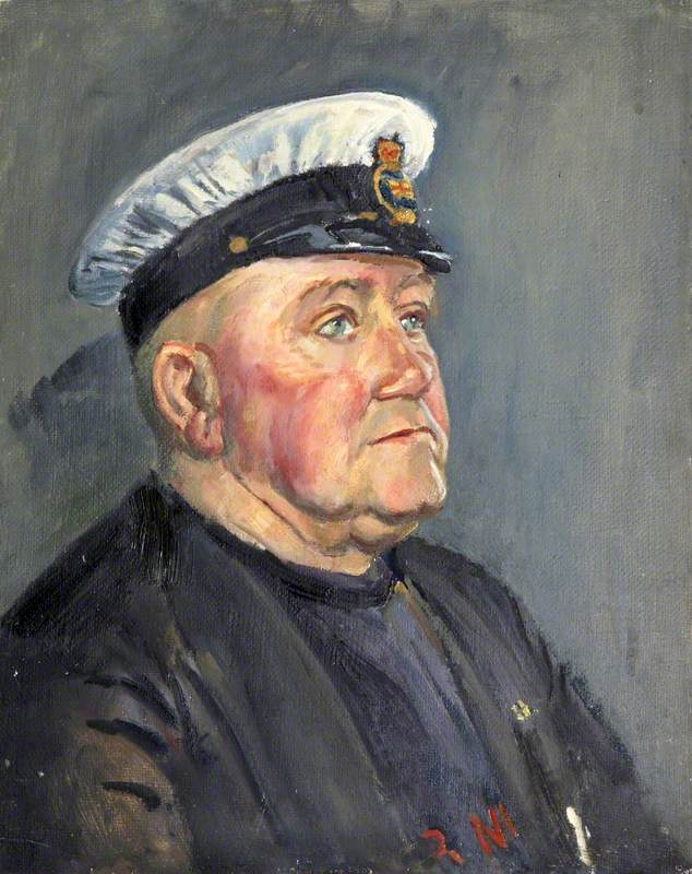 Portrait of an Exmouth Lifeboatman