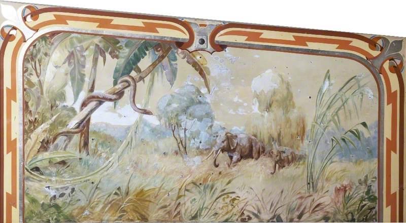 R. Edwards' 'Super Chariot Racer': Jungle Scene