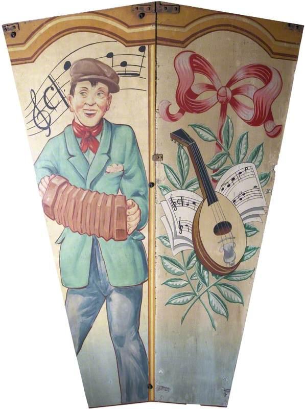 Scott's 'Wonder Waltzers': Concertina Player and Mandolin