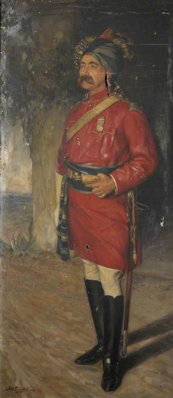 Lieutenant Colonel W. W. Lean, Fifth Bengal Cavalry