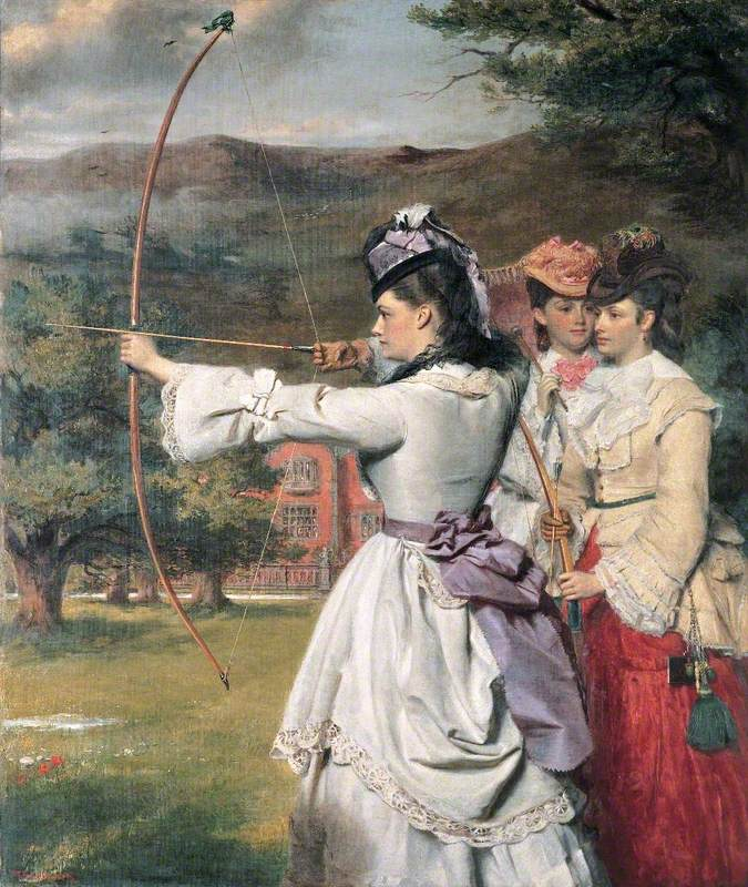 The Fair Toxophilites (English Archers, Nineteenth Century)