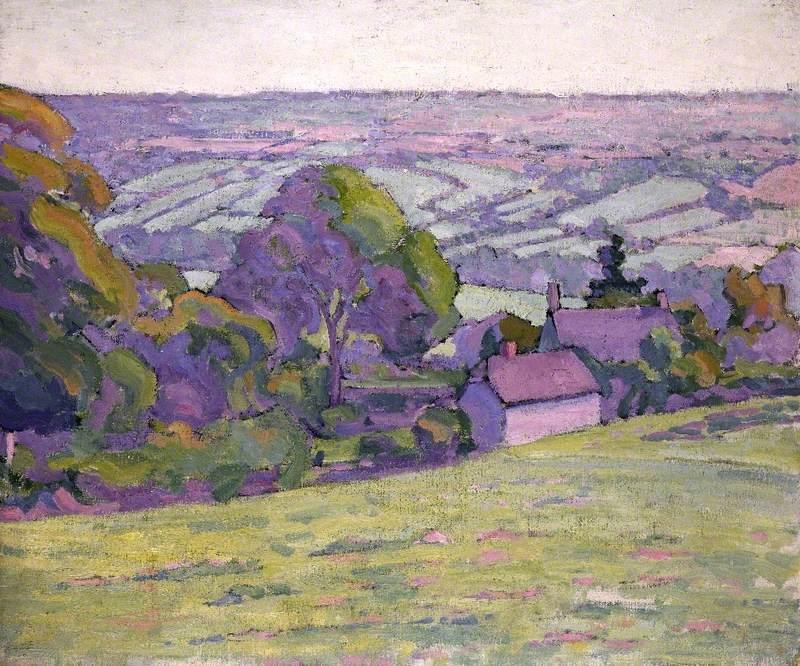 A Devonshire Valley, Number 1