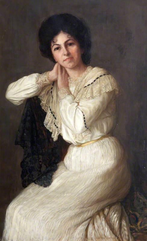 Miss Bertha Salter, Singer from North Devon