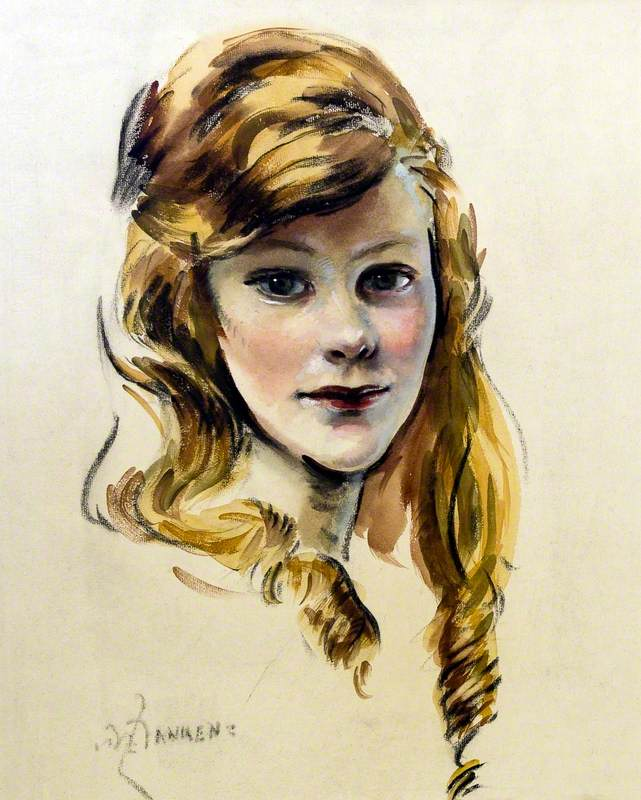 Auburn-Haired Girl