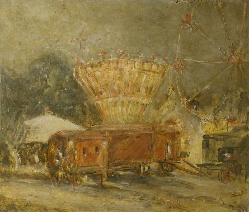 Fairs Come to Blandford, Dorset