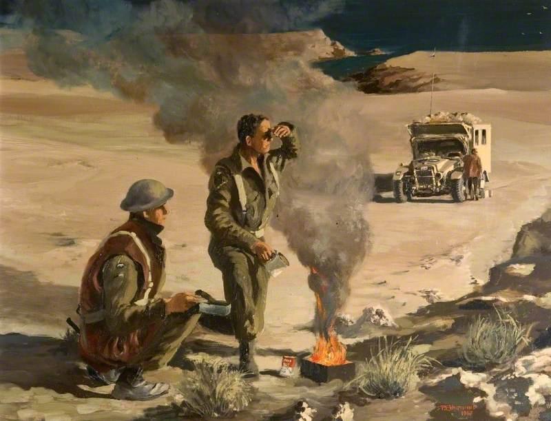 Desert Scene, 1942–1943