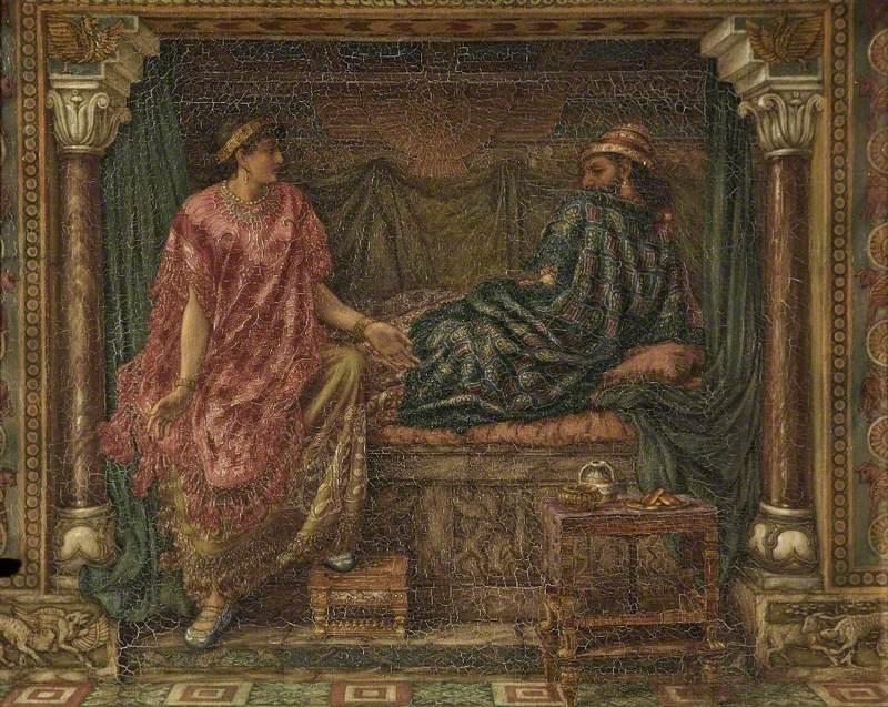 Jezebel Promises Ahab to Obtain it by False Witness