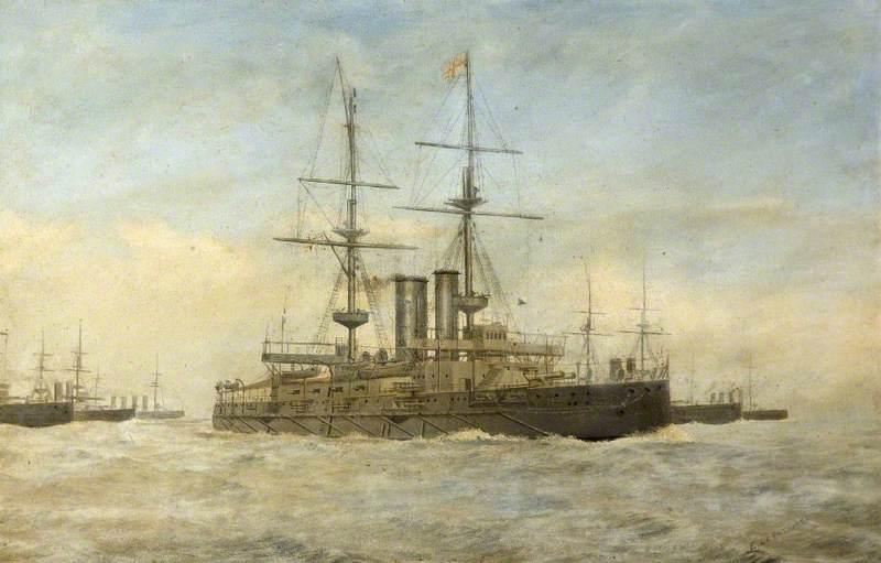 A British Battleship