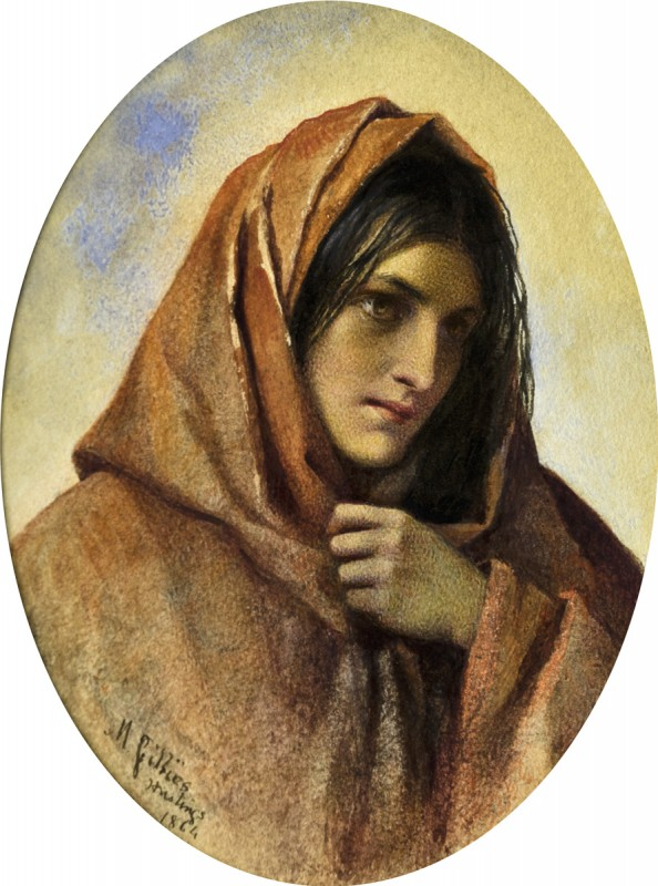 Gypsy Woman (Study of a Fishergirl, Hastings)
