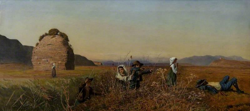 Children in the Roman Campagna
