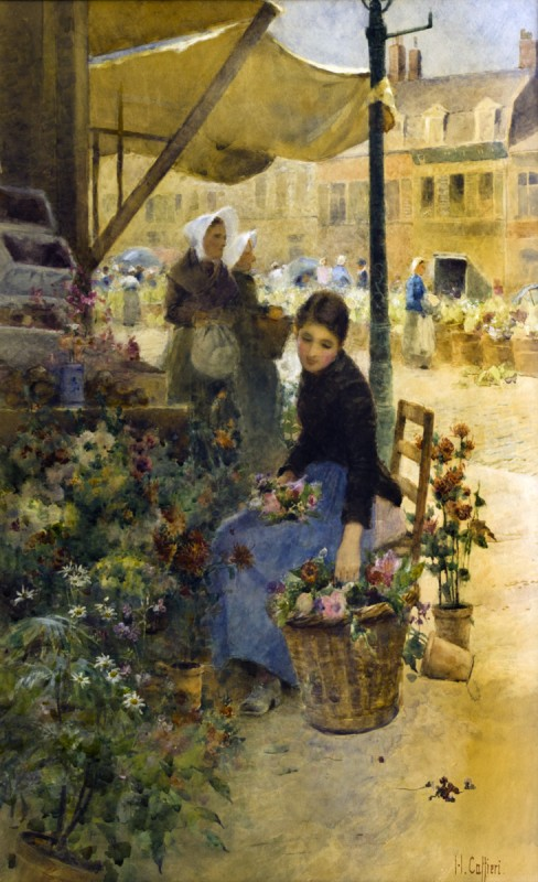 Flower Market, Boulogne