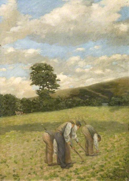 Landscape with Figures Hoeing