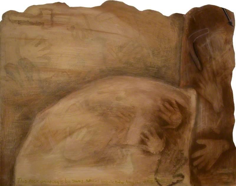 'Dreams of Australia' Series, Rock Painting