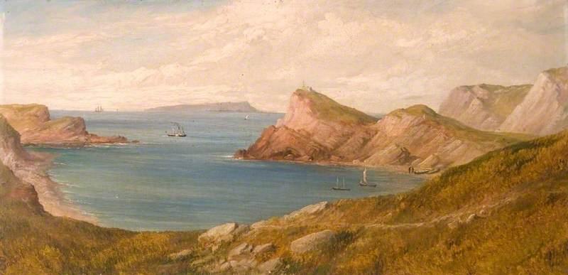 View Towards Portland, Dorset