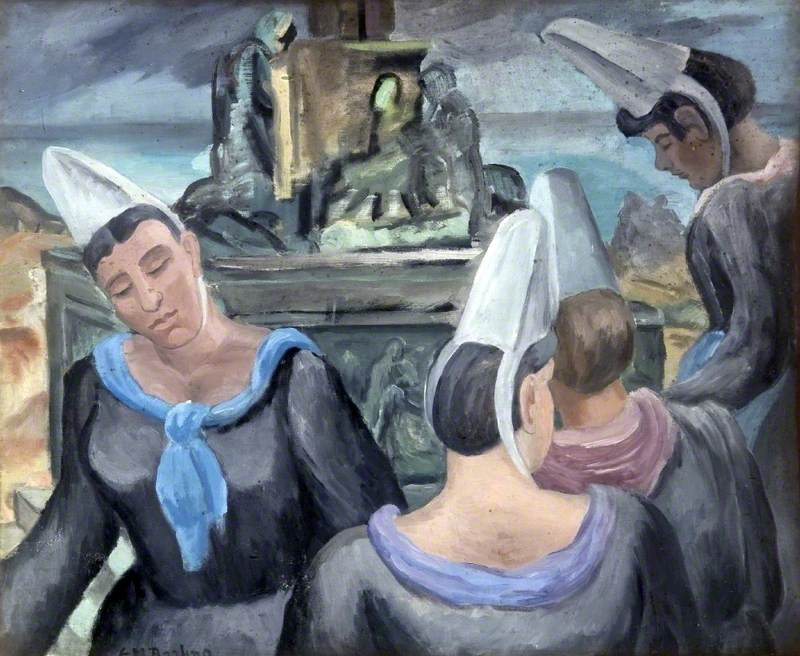 Breton Women at Calvary