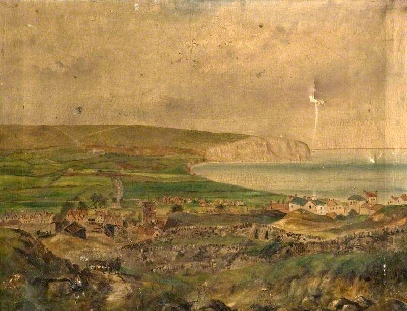 Swanage Bay from the Quarries, Dorset