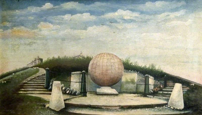 Globe at Durlston, Swanage, Dorset