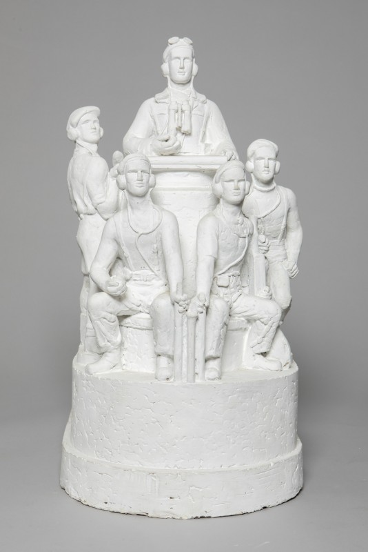 Maquette of Royal Armoured Corps Memorial