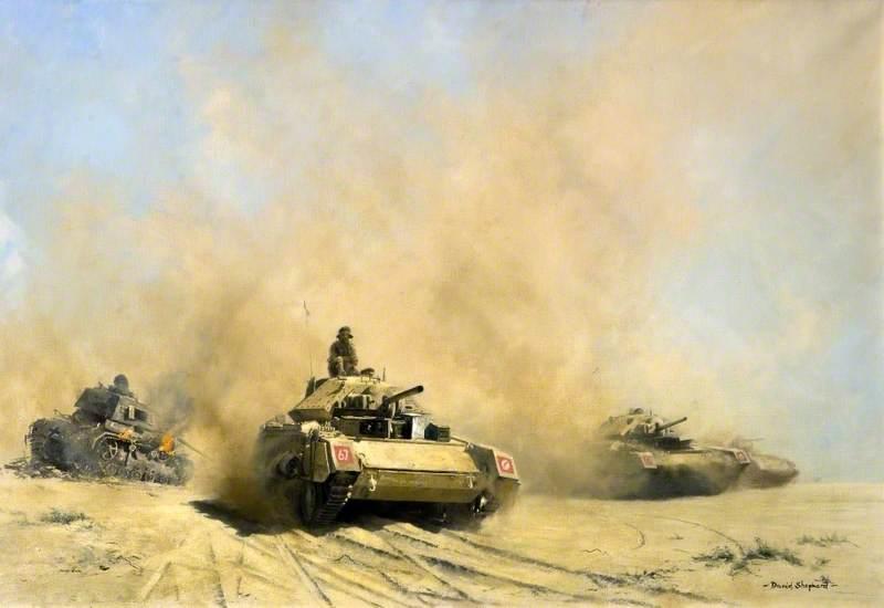 Crusaders in the Desert
